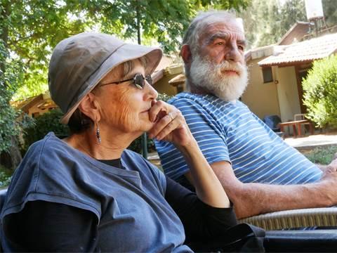 אלון ורינה טיגר, תושבי מבוא מודיעים / צילום: תמר מצפי, גלובס