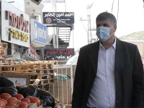 """אום אל פאחם ד""""ר סמיר מחמיד  / צילום: מתן פורטנוי, גלובס"""