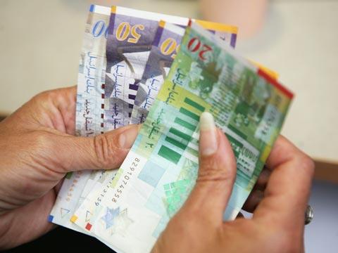 שטרות כסף / צלם: עינת לברון