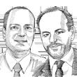 """איתן פרנס וד""""ר דן וינשטוק / איור: גיל ז'יבלי"""