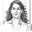 """עו""""ד עדי ויצהנדלר / ציור: גיל ג'יבלי"""