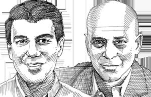 הראל גילאון וזאהר זהר / איור: גיל ג'יבלי