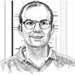 """ד""""ר ישראל קליין / איור: גיל ג'יבלי"""