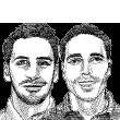 עומר גרומן ודור מרינובסקי / ציור גיל ג'יבלי