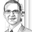 """ד""""ר צבי גבאי / ציור גיל ג'יבלי"""