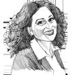 איריס שפירא ילון / איור גיל ג'יבלי