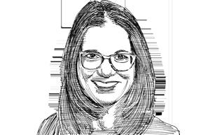 """ד""""ר דפנה ריצ'מונד־ברק / איור גיל ג'יבלי"""