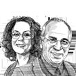 דוד הראל ורבקה כרמי / איור גיל ג'יבלי