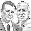 אדם רויטר ודודי הראל  / איור: גיל ג'יבלי