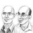 אייל שחר ואודי קימרון / איור: גיל ג'יבלי