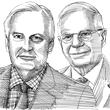 ג'וזף בורל ומישל ברנייר / איור: גיל ג'יבלי