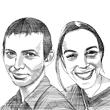 נועה זלצר ואדי איטלמן  / איור: גיל ג'יבלי