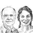 נוגה דגן בוזגלו ושלמה סבירסקי  / איור: גיל ג'יבלי