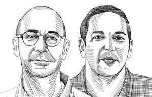 אסף זוסמן ומשה שעיו / איור: גיל ג'יבלי