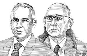 יעקב נגל ויונתן שנזר / איור: גיל ג'יבלי