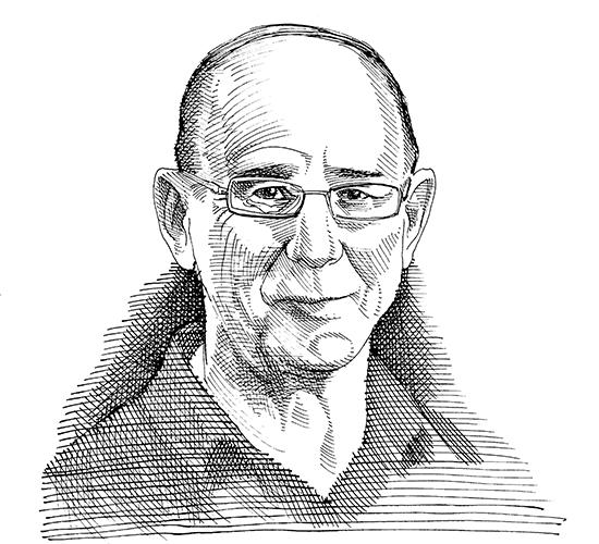 פרופ' חיים לוי / איור: גיל ג'יבלי