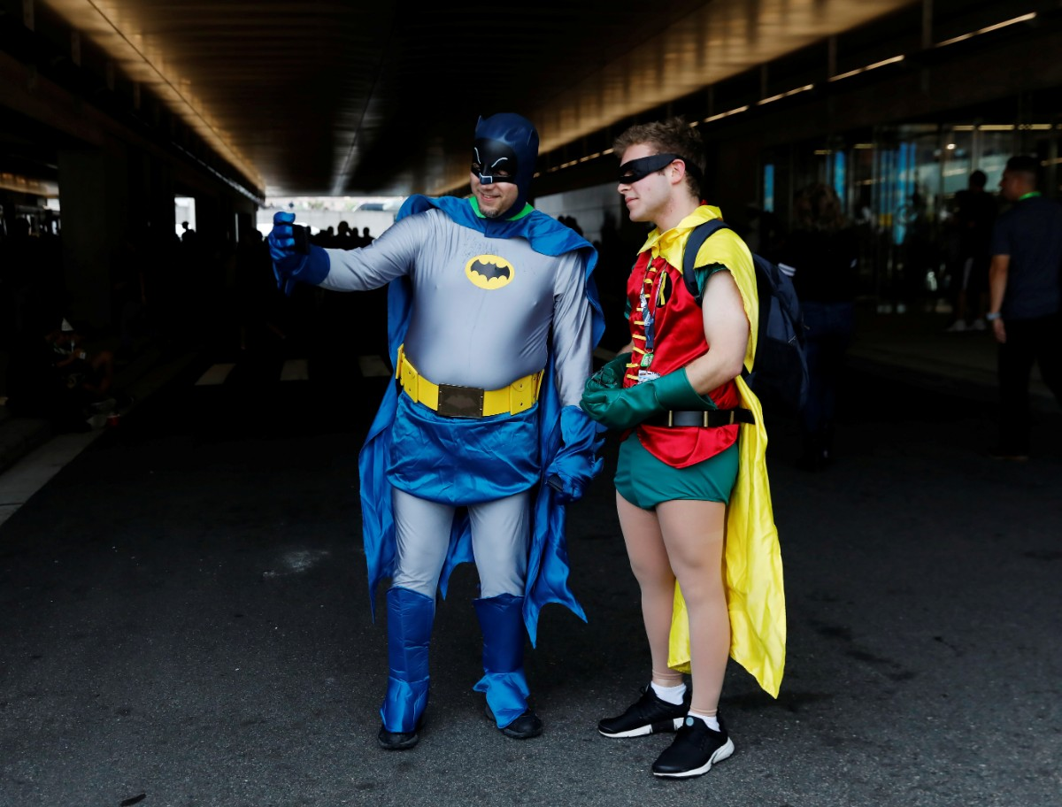 משתתפי קומיקון ניו יורק השנה / צילום: Shutterstock ורויטרס
