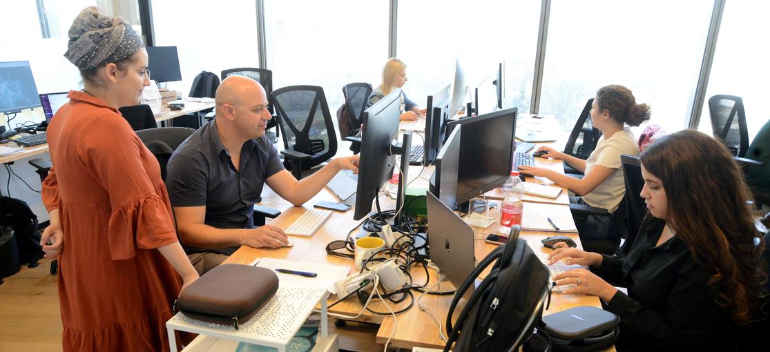 משרדי Papaya Global / צילום: איל יצהר, גלובס