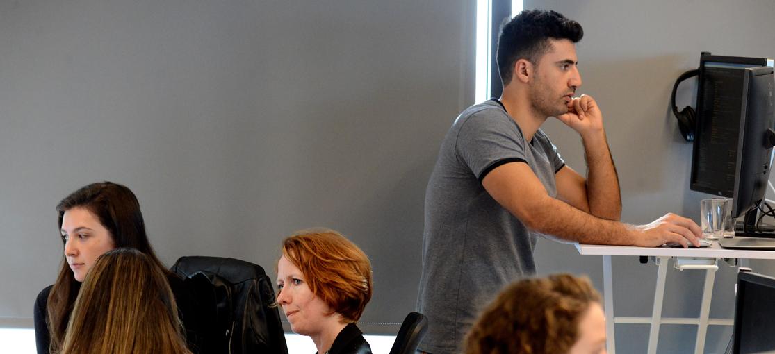 משרדי Logz.io / צילום: איל יצהר, גלובס