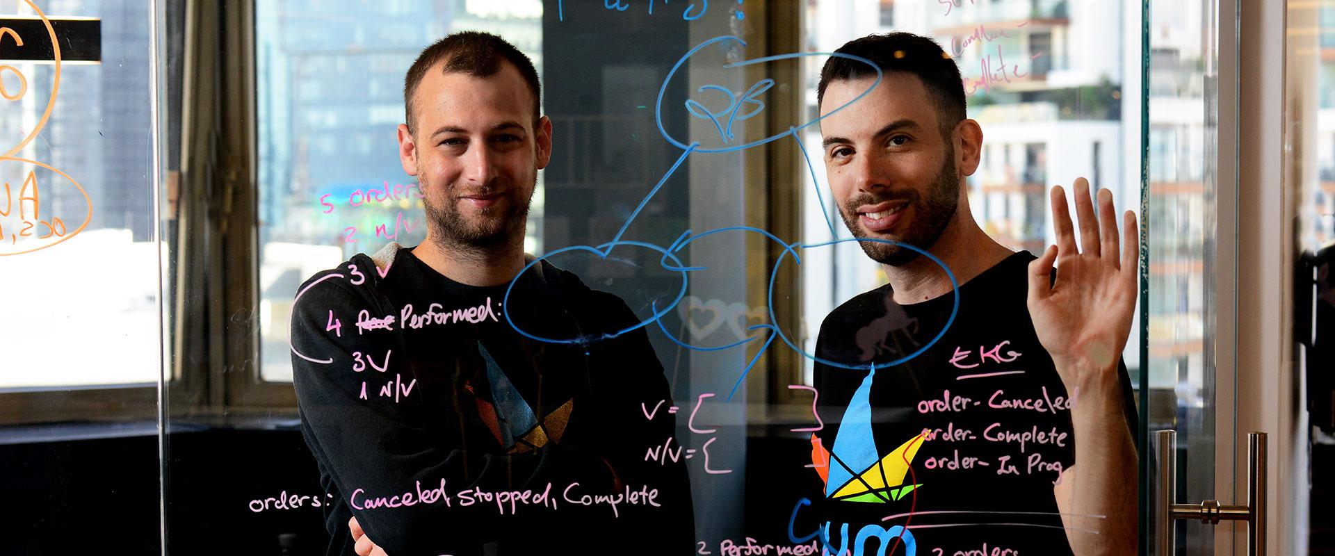 10 הסטארט-אפים המבטיחים 2020 - אדם רימון ועמיחי נידרמן, מייסדי Nym / צילום: Nym