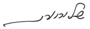 כתב ידה של איריס שטרק