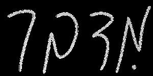 כתב ידה של טל אוחנה