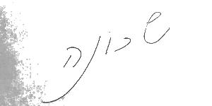 כתב ידו של עמירם ברקת
