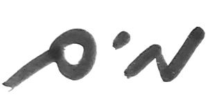 כתב ידו של רועי חסן