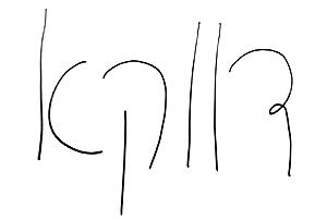 כתב ידה של גלי וינרב
