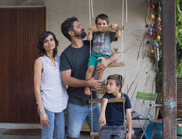 משפחת בן צבי  / צילום: פולי בלום, גלובס