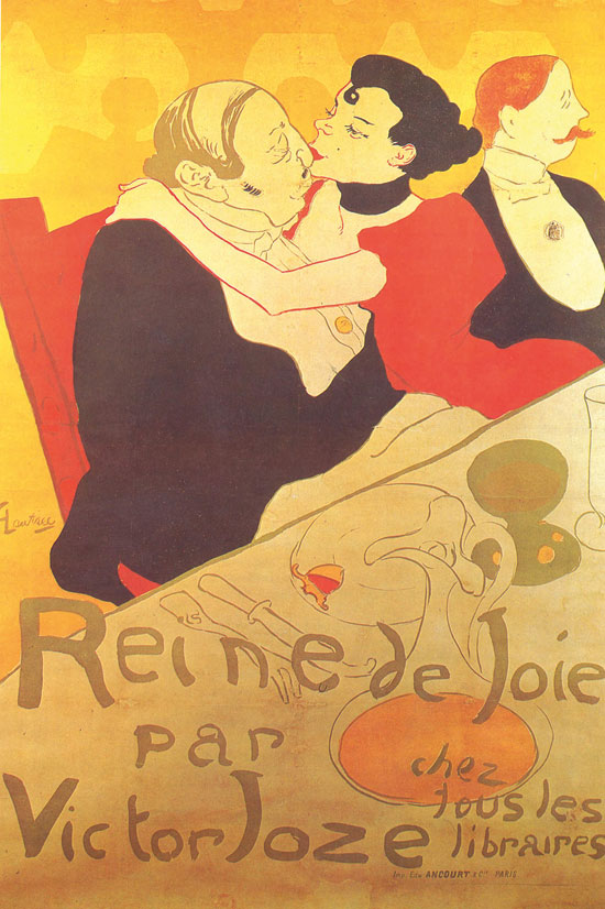 'מלכת התענוגות', לוטרק, 1982