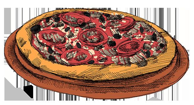 פיצה- חברת דונה איטליה / איור: גיל ג'יבלי, גלובס