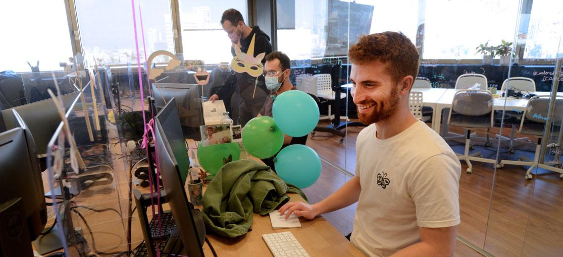Nym - המשרדים והצוות / צילום: איל יצהר, גלובס