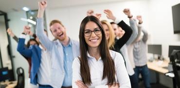 שביעות רצון של עובדים בחברה / צילום:  Shutterstock/ א.ס.א.פ קרייטיב
