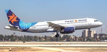 מטוס ישראייר / צילום: מוני שפיר