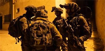 צפו: כתבנו הצטרף לסיור של גדוד צנחנים לאיתור אמל