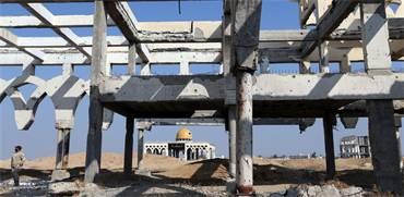 הריסות שדה התעופה ברצועת עזה / צילום: Ibraheem Abu Mustafa, רויטרס