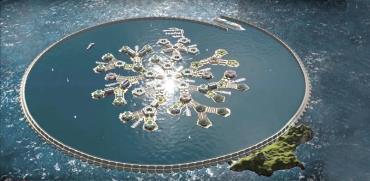 כך האיים המלאכותיים אמורים להיראות.  / צילומים: מתוך הסרט SeaStanders, באדיבות המצולם