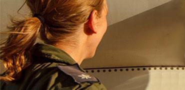 היסטוריה בחיל האוויר: אשה מונתה למפקדת טייסת