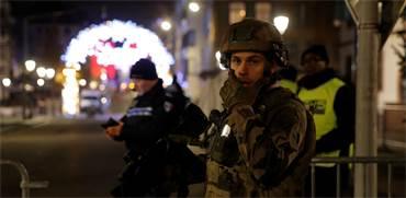 כוחות משטרה באזור הפיגוע בשטרסבורג, צרפת / צילום: Vincent Kessler, רויטרס
