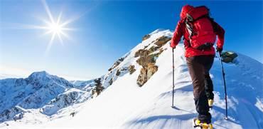 טיפוס קרח באתר סקי / shutterstock