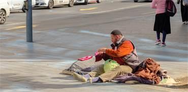 עוני, חסר בית / שאטרסטוק