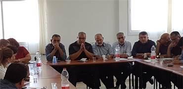 ועדת המעקב העליונה לענייני הציבור הערבי / צילום באדיבות הוועדה