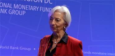 """Christine Lagarde, יו""""ר קרן המטבע / צילום: יורי גריפס, רויטרס"""