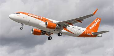 """מטוס איזי ג'ט / צילום: יח""""צ"""