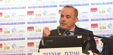 יובל שטייניץ בוועידת אנרגיה ועסקים היום / צילום: כפיר סיון