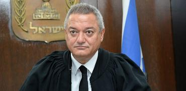 השופט חאלד כבוב / צילום: תמר מצפי