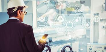 פתרונות דיגיטליים בעבודת מפעל / צילום: Shutterstock/ א.ס.א.פ קרייטיב