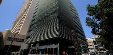 בניין הבורסה לניירות ערך בתל אביב / צילום: איל יצהר