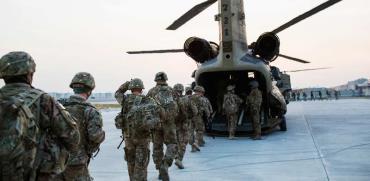 חיילים אמריקאיים באפגניסטן. / צילום: רויטרס, Lucas Jackson